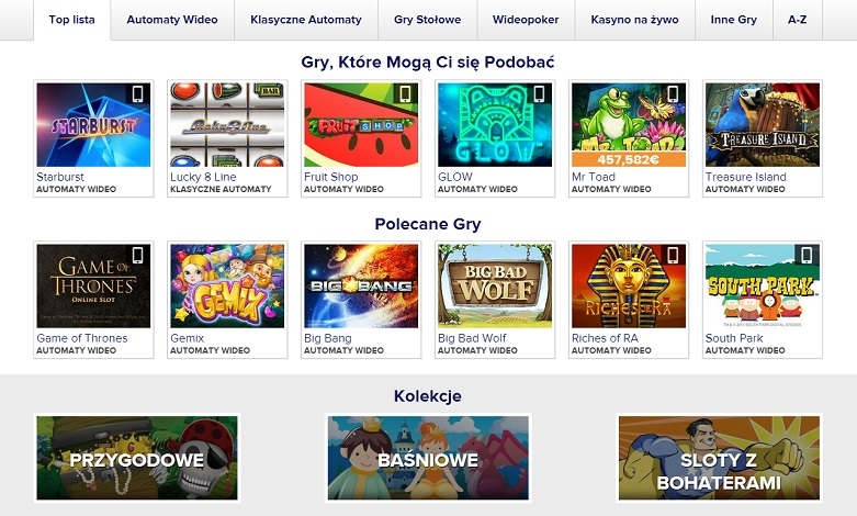 Casino euro gry online