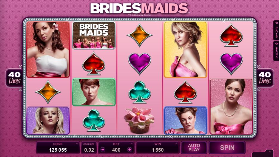 Brides Maids Slot