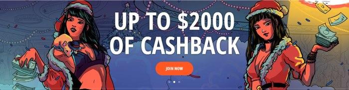Bonusy gotówkowe w Vulkan Vegas