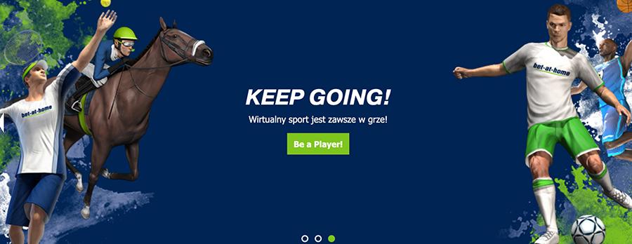 Wirtualna sekcja sportu w Bet at home