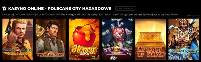 Energywin gry hazardowe