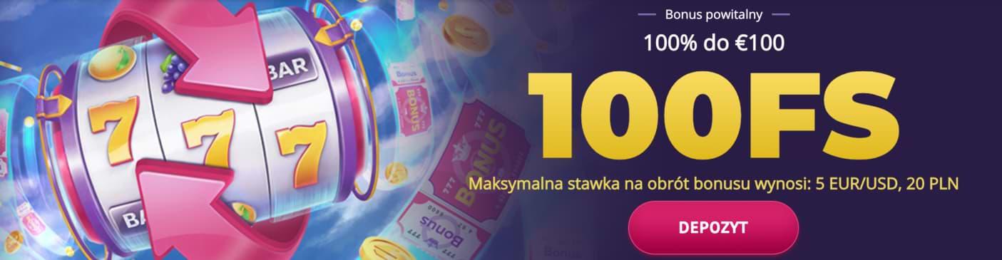 Bonus powitalny w kasynie online Slotum