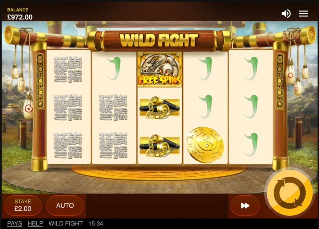 wild fight slot graphics
