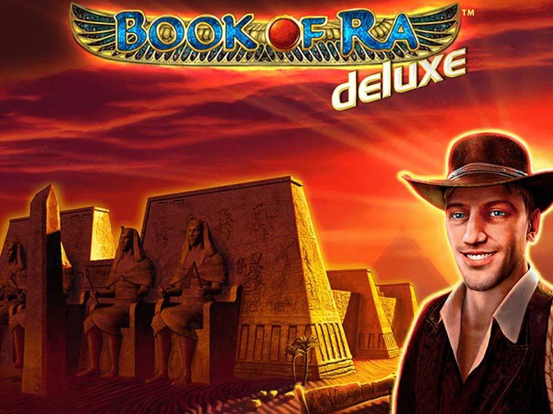 Book of ra deluxe automat logo