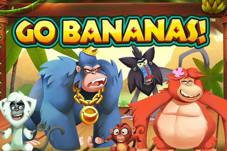 Go bananas automat logo