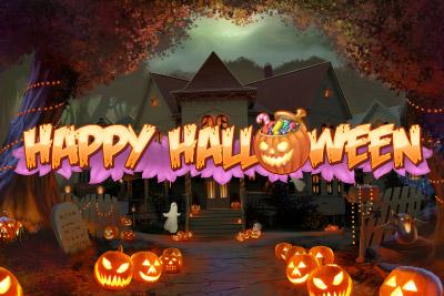 Happy halloween automat logo