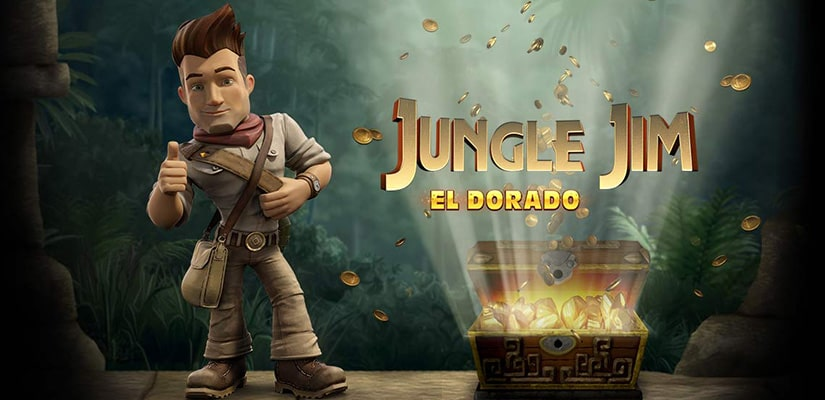 Jungle jim el dorado automat logo