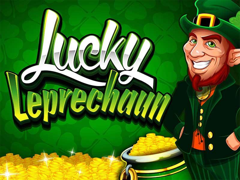Lucky leprechaun automat logo
