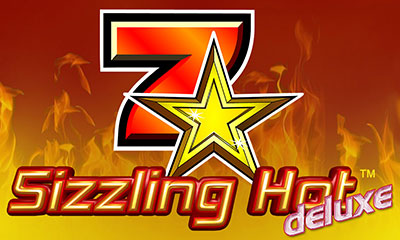 Sizzling hot deluxe automat logo