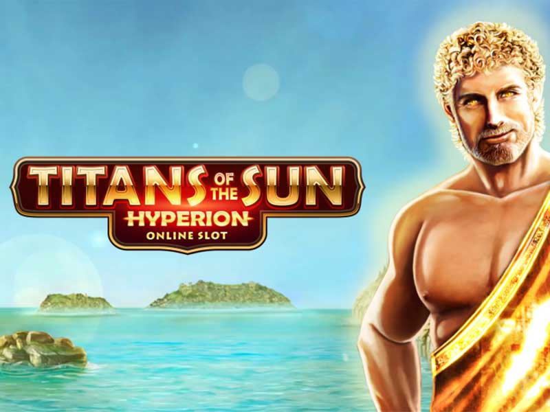 Titans of the Sun Hyperion automat logo