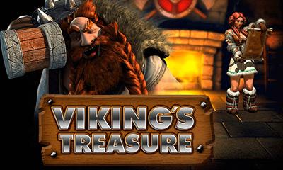 Viking's treasure logo