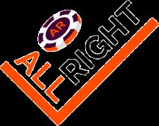 all right casino logo