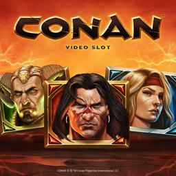 Conan slot logo gry